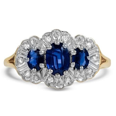 Edwardian Sapphire Cocktail Ring   Trinidad   Brilliant Earth