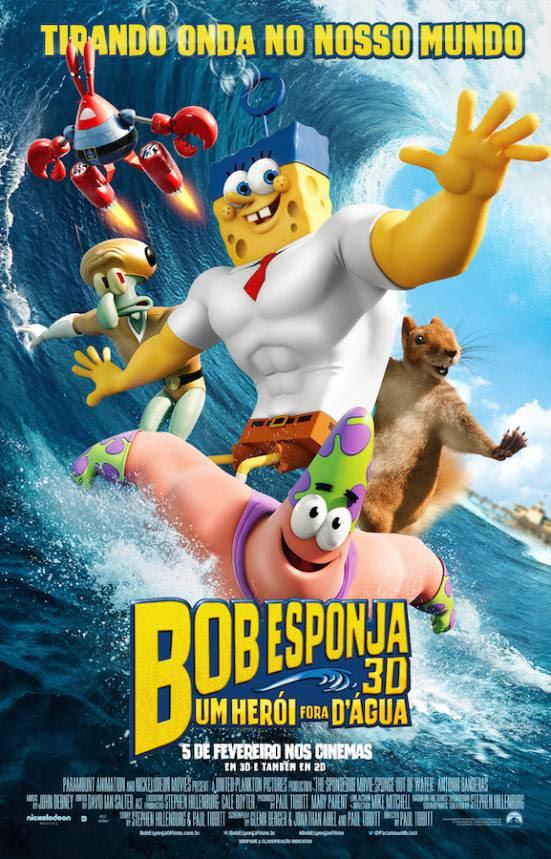Bob Esponja: Um Herói Fora D'Água   Dublado Download