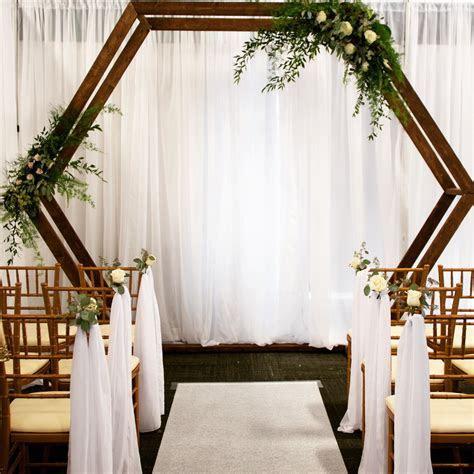 Hexagon arch ? The Wedding Vogue