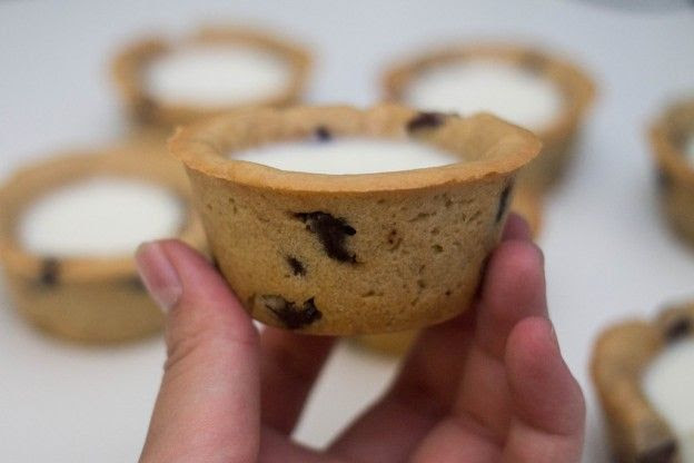 Tazas de cookies