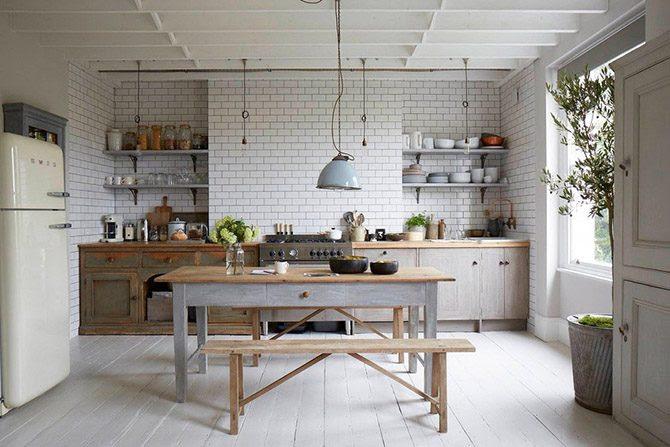 Самые красивые деревянные кухни