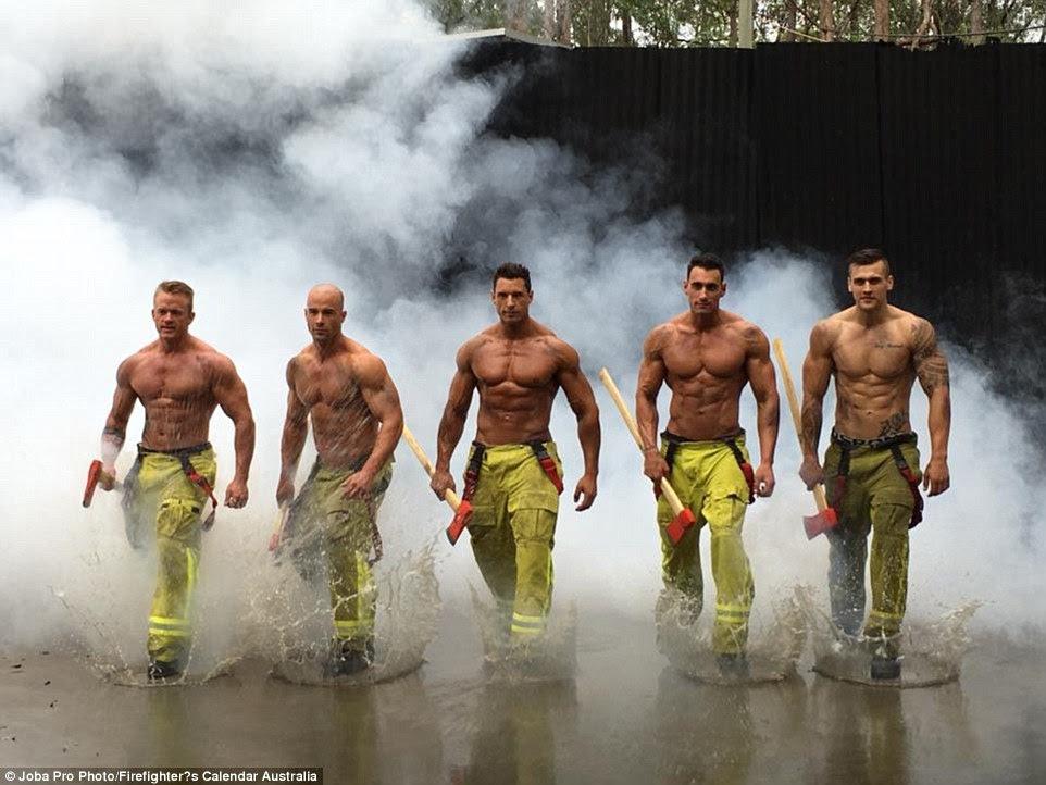 Firefighters strip off for 2017 Firefighter's Calendar Australia ...