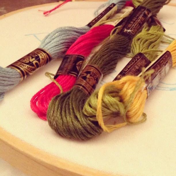 Tomorrow...I stitch!