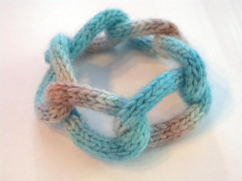 I-cord Chain Bracelet
