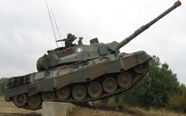 Ολοκληρώθηκε η παραλαβή των νέων βλημάτων για τα άρματα LEOPARD