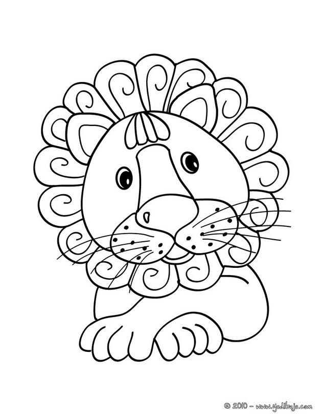 Dibujos Animales De La Sabana Para Colorear 37 Dibujos De Animales