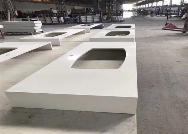 Pure White Quartz Worktop Prefab Kitchen Island Countertop With Special Design For Sale Prefab Kitchen Countertops Manufacturer From China 108588850
