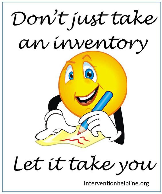 don't just take an inventory, let it take you Recovery sayings and ...