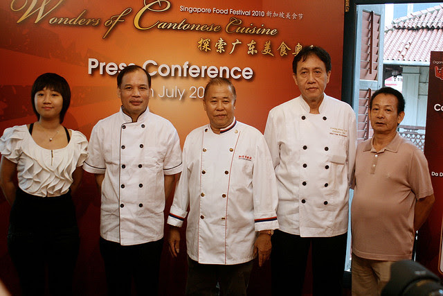 Chefs from the participating restaurants