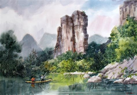 Original painting Beautiful Chinese Artists Artwork