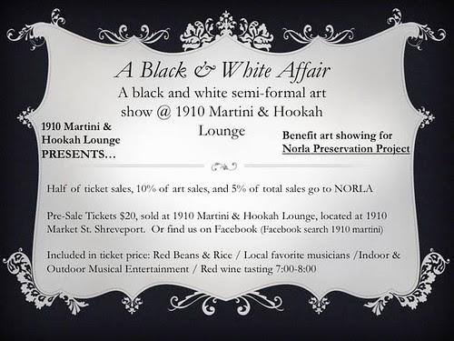 Norla benefit: A Black & White Affair by trudeau