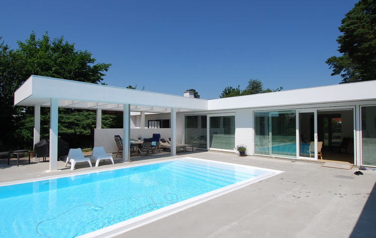Contemporary Pool by NB ark