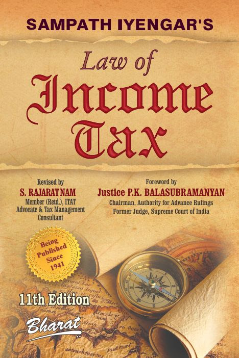Buy Sampath Iyengar S Law Of Income Tax In 9 Vols Complete Set Ready Vol 9 Containing Commentary On Wealth Tax Act 1957 By Revised By S Rajaratnam Bharat Law House Pvt Ltd
