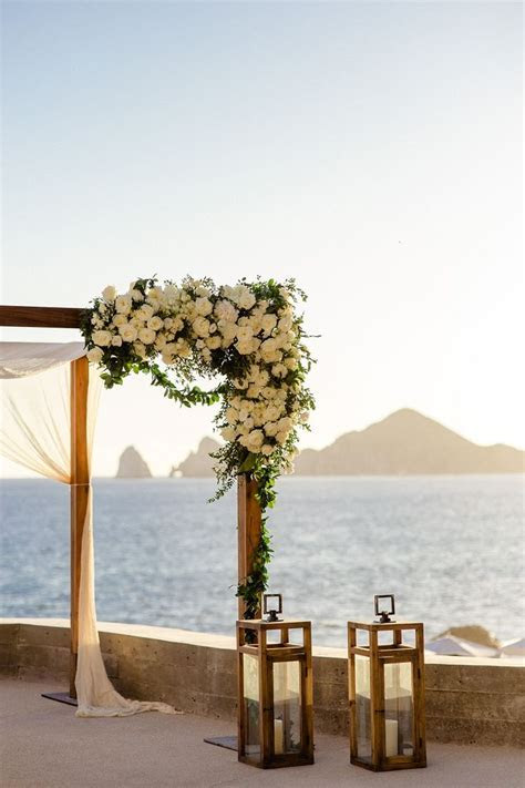 Beautiful destination wedding inspiration in Cabo San