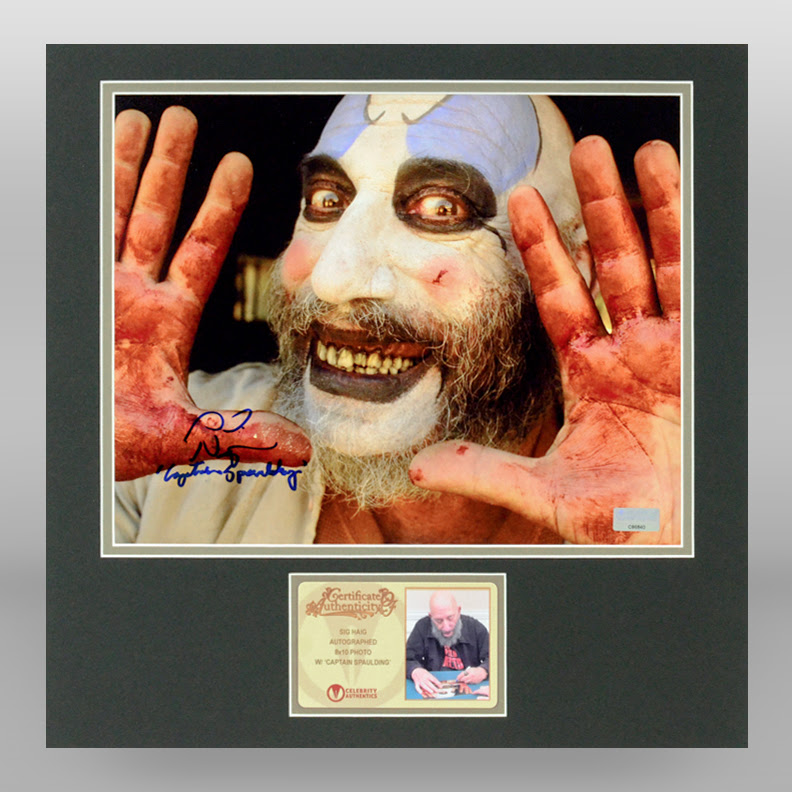 Lot Detail Sid Haig Autographed House Of 1000 Corpses 8x10 Hello