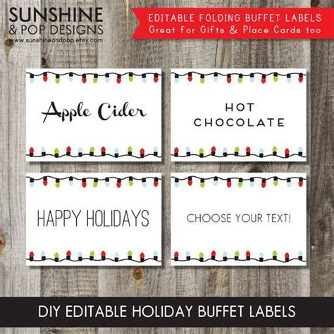 1000  ideas about Christmas Place Cards on Pinterest
