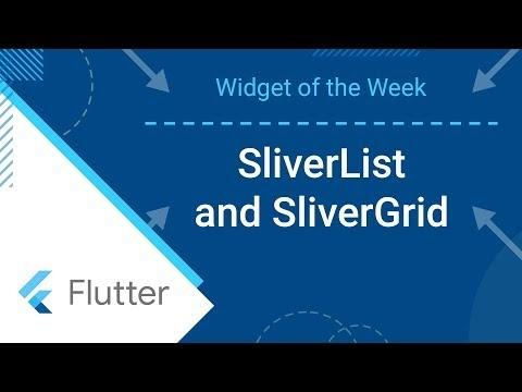 Louis' blog: SliverList & SliverGrid (Flutter Widget of the