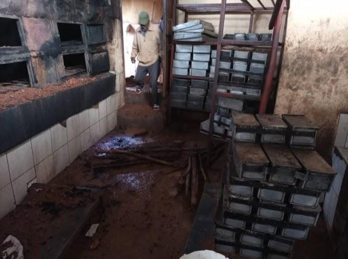 Kamonyi-Runda: Inkongi y'umuriro yafashe uruganda rw'imigati rurashya #rwanda #RwOT