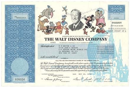 Aktie Disney