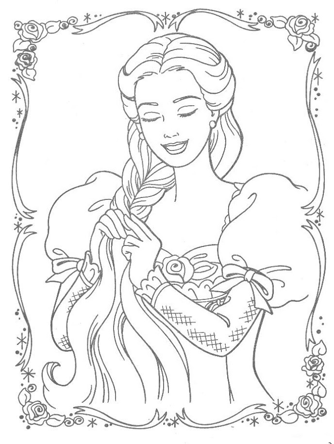 900 Princess Coloring Pages Not Disney For Free