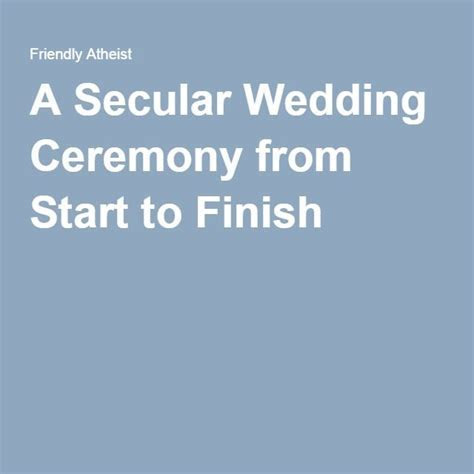 1000  ideas about Atheist Wedding on Pinterest   Non