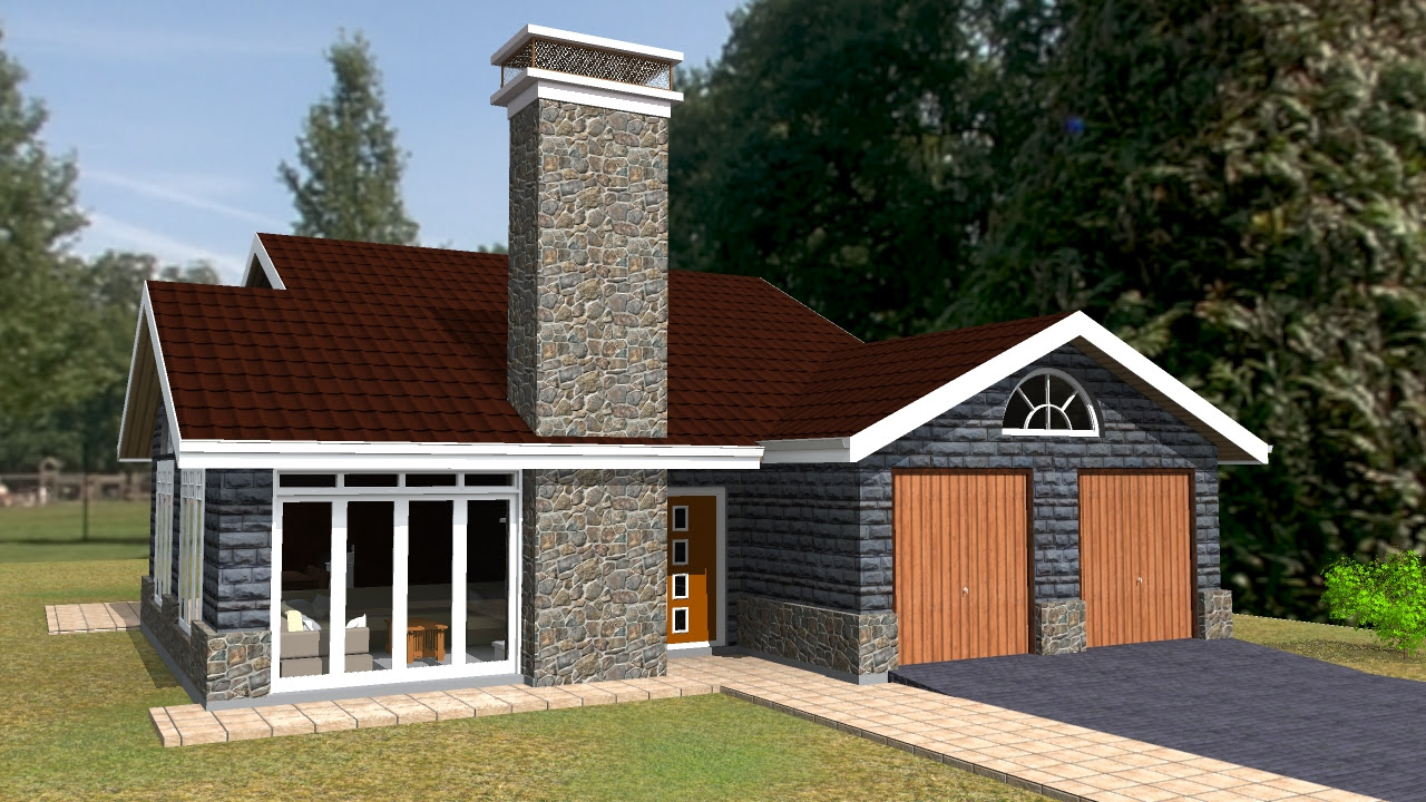 Simple 3 Bedroom House Designs In Kenya The Kitchen