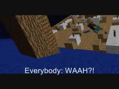 Sinking Ship - Minecraft Animation - YouTube