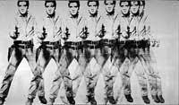 <p>'Elvis 8', de Andy Warhol</p>