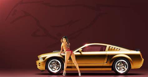 ren stang girl mustang girls  car pinterest girls