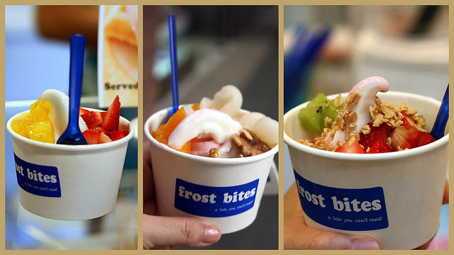 Frozen Yoghurt from Frostbites