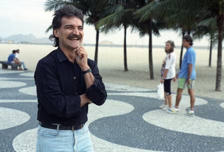 Belchior passei no Rio de Janeiro. Foto de 23 de maio de1991