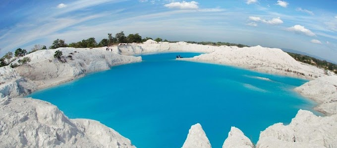 Danau Kaolin, Planet Putih di Pulau Bengkulu