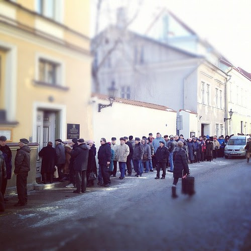 Putin elections in Tallinn by Siim Teller