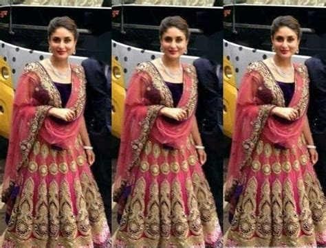 Bollywood Indian Celebrity Kareena Kapoor in Designers
