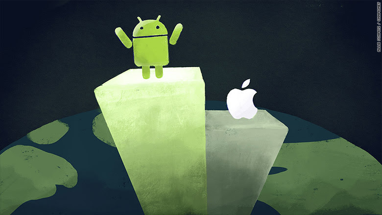 Smartphone's Competition: How Android Beat the iPhone to World Domination