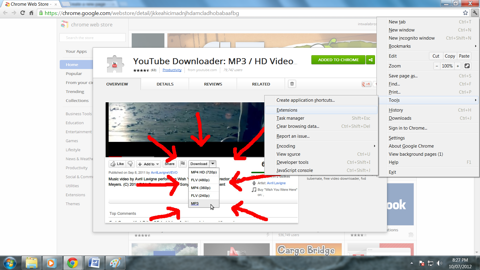 Music Downloader Chrome Extension