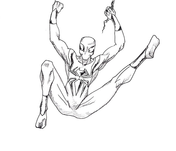 Spiderman Images For Drawing At Getdrawingscom Free For Personal