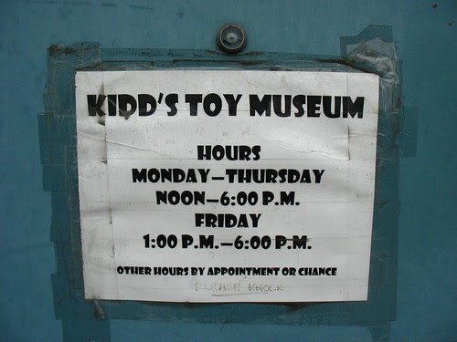 Other hours by appointment or chance