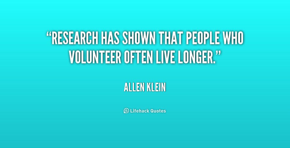 Volunteer Quotes By Famous People. QuotesGram