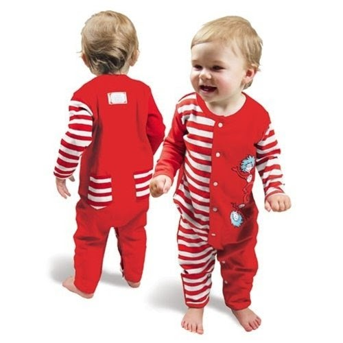 Dr Seuss Baby Clothes Dr Seuss Thing One And Two Red And