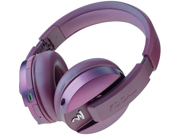 Focal FLISTENWL-PP Listen Wireless Over-Ear Headphones with Microphone - Purple for $559