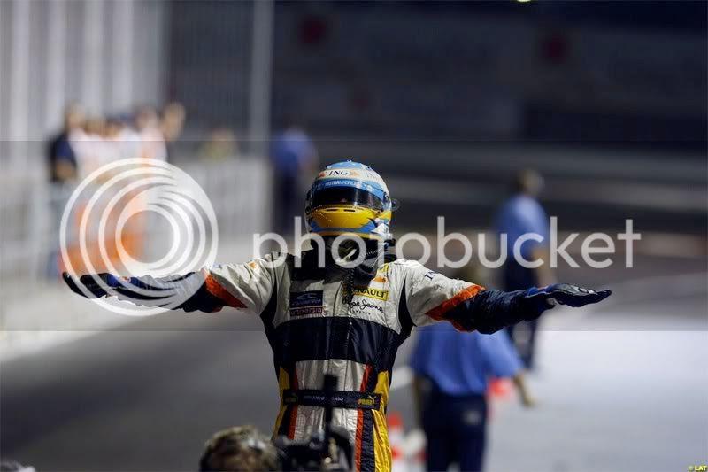 Alonso GP Singapur 2008