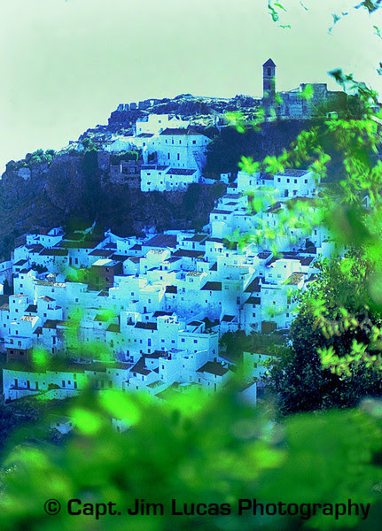 Andalucia Spain - Casares near the Costa del Sol - Taken with a Nikon EL with a 75-150 Nikkor Zoom Lens - Kodachrome 64 ASA film - scanned with a Plustek OpticFilm 7200 slide scanner.