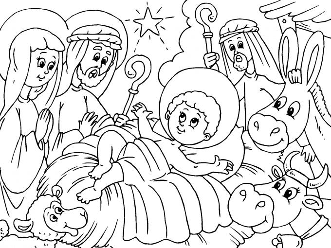Jesus Maria Y Jose Para Imprimir Paracolorearnet