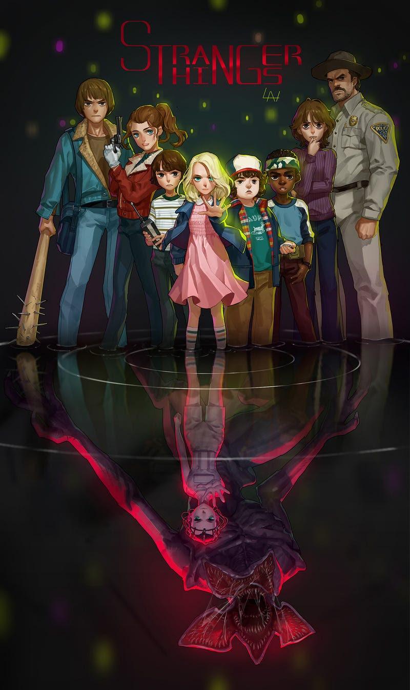 A Stranger Things Anime Is Not The Worst Idea Kotaku Uk