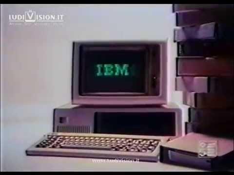 IBM Personal Computer con Charlie Chaplin (1984)