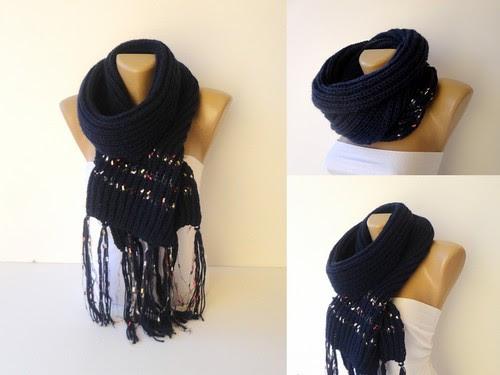 knitting scarf by seno_ada