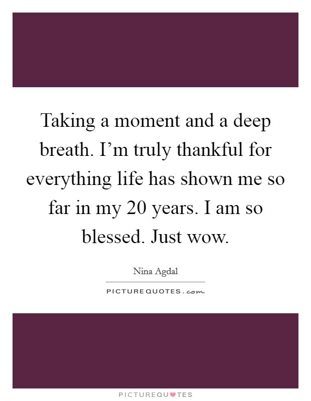 Thankful And Blessed Quotes Sayings Thankful And Blessed Picture