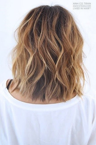Long Bob Beach Waves Beach Wave Hair Ideas That Will Have You
