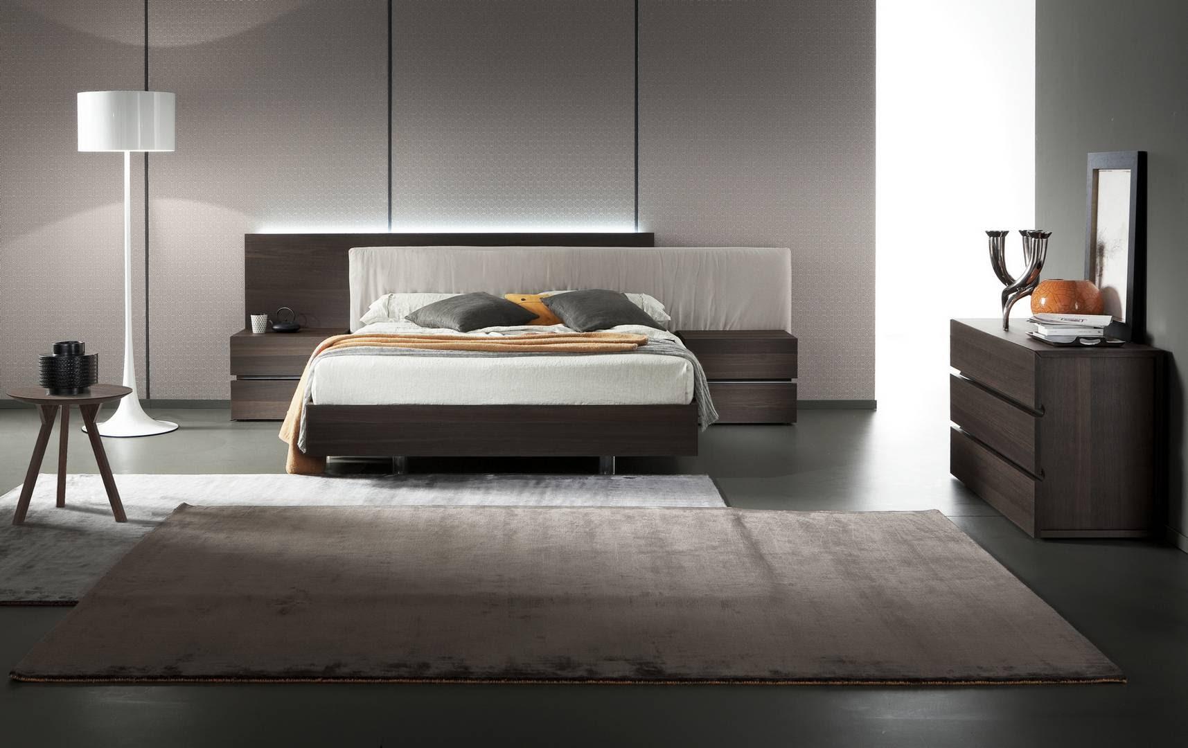 dark brown oak wood italy europe bedgroup suite arros edge